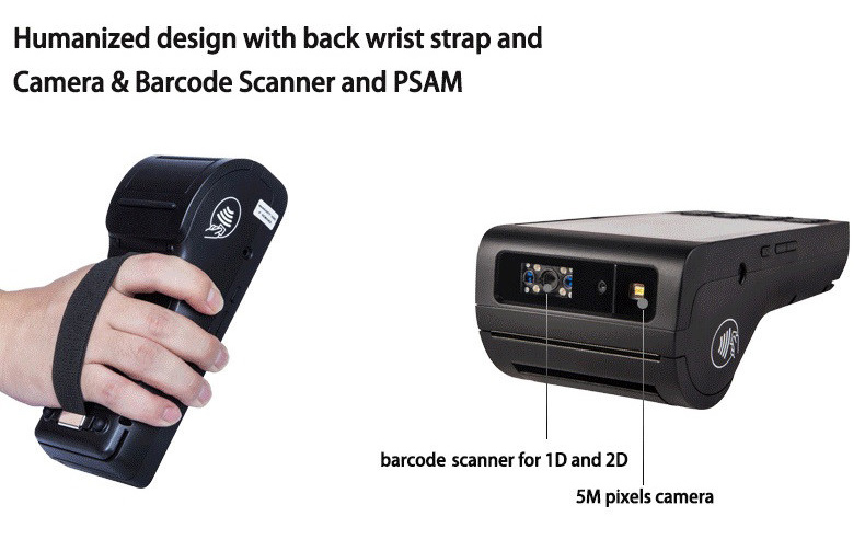 Barcode Scanner Android Mobile POS Machine