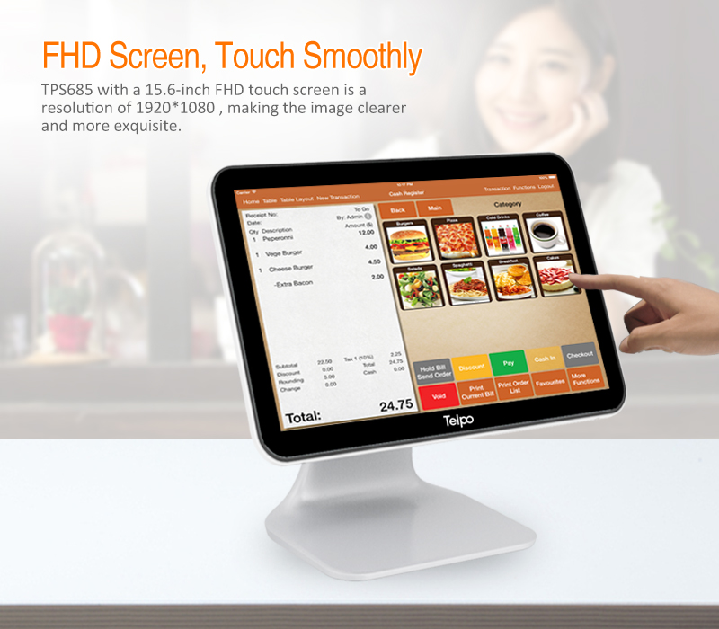 Android Based Electronic Cash Register Machine