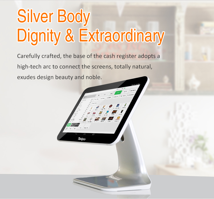 Easy to use Single Screen Cash Register Machine
