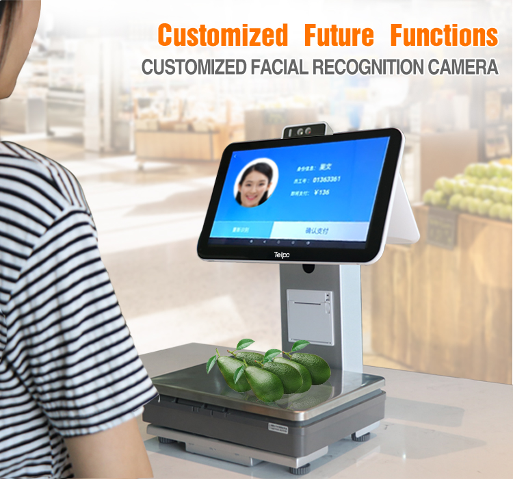 Table Top Touchscreen Smart Electronic POS Scale Machine
