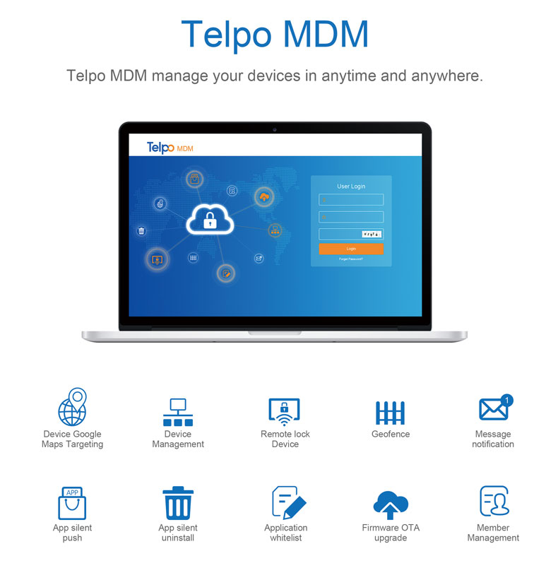 Telpo Mobile Device Management System