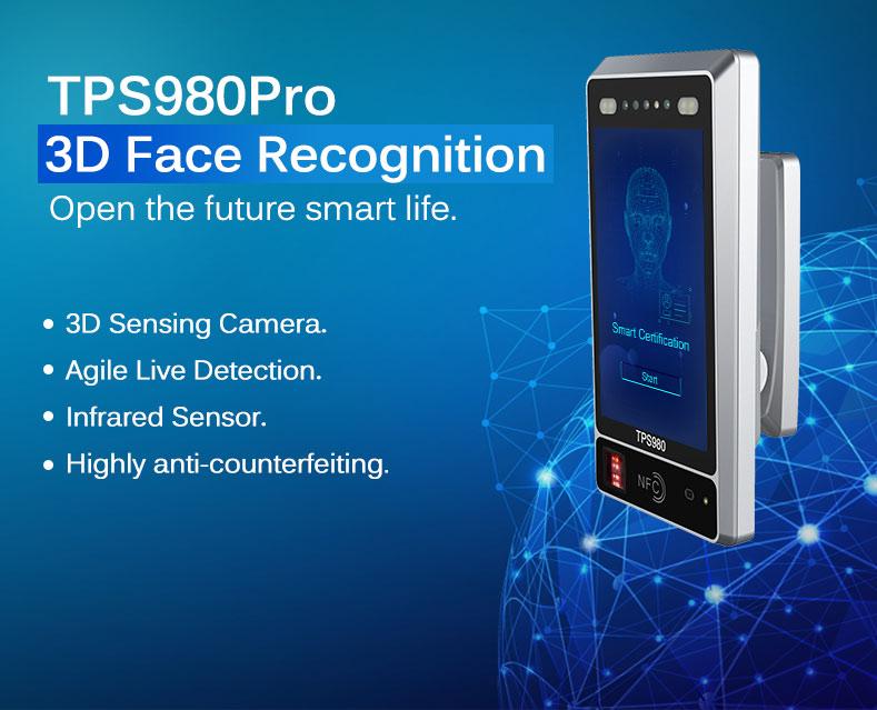 3D Face Recognition Machine