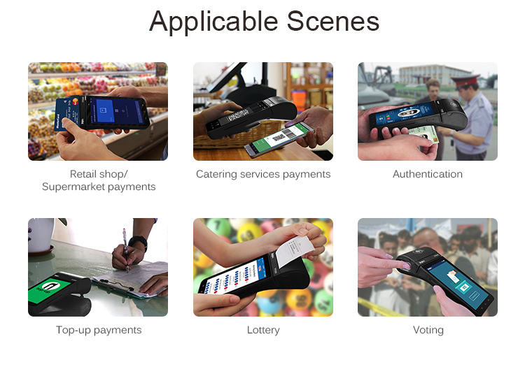 5.5 inch Touch Screen Android BIS PCI EFT POS Machine