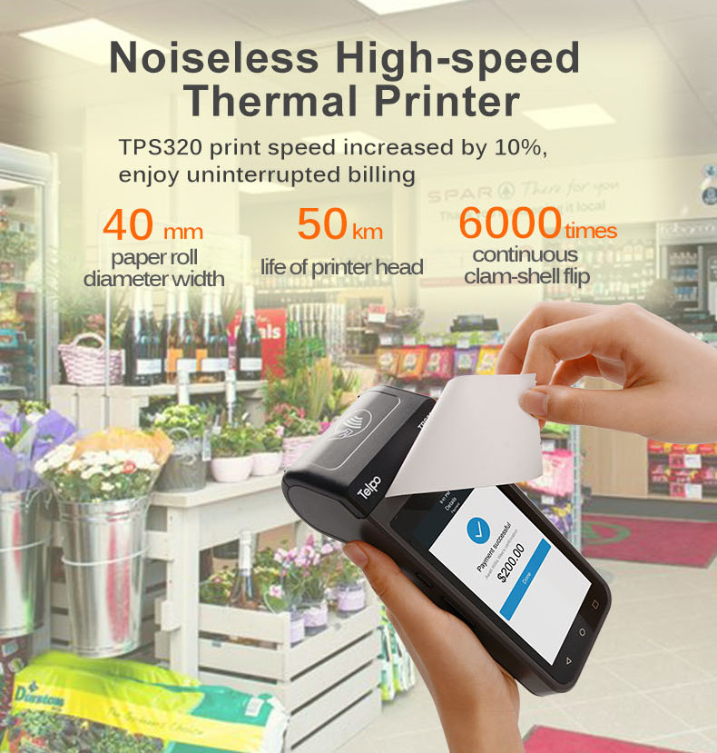 Retail Wireless QR-code Payment Mobile POS