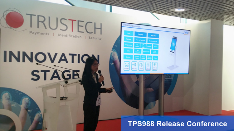 Technology Innovate Life | Telpo New Product Shines 2019 Trustech