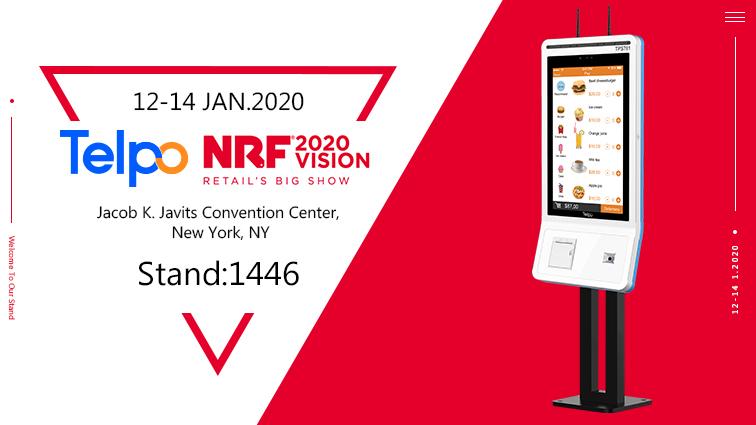 Hello 2020 NRF, Telpo Is Coming