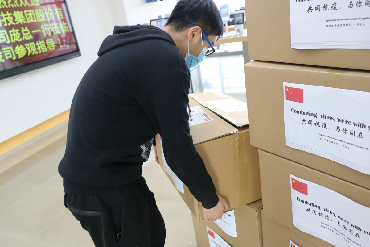 Telpo Donated Epidemic Prevention Medical Supplies To Overseas Countries