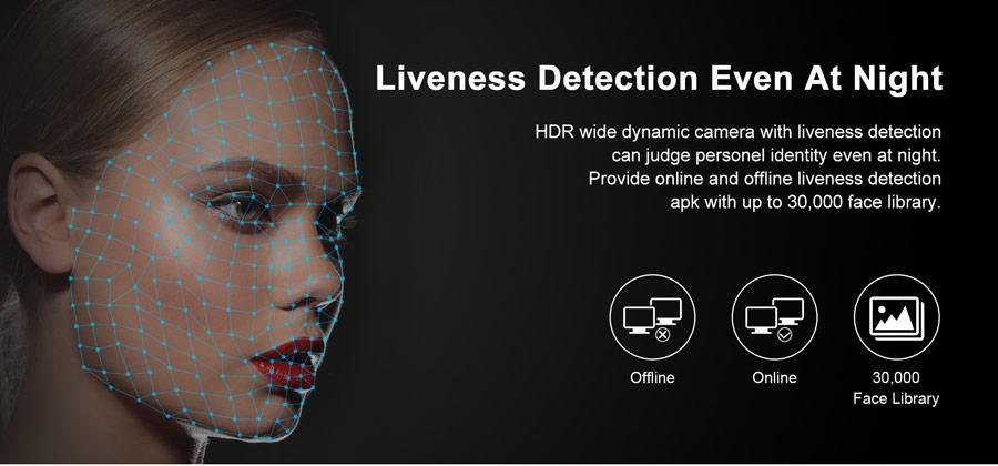 Telpo F6 IP65 Outdoor Face Fingerprint Recognition Terminal