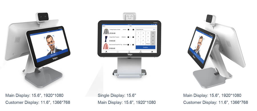 Dual Screen 5th Generation Android Cash Register Machine