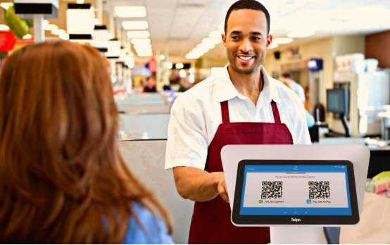 Billing Machine Helps Supermarket Better Running Business
