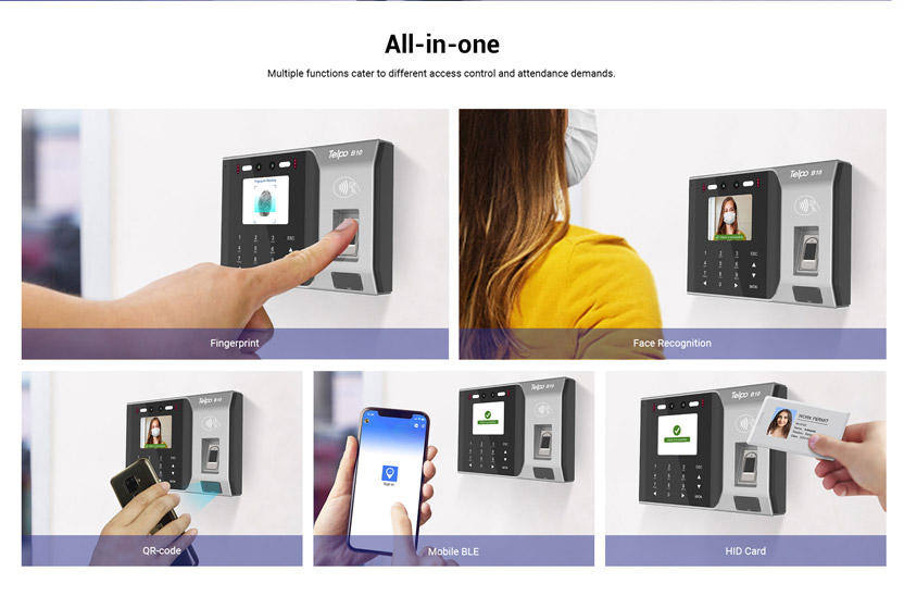 Time Attendance and Access Control Machine