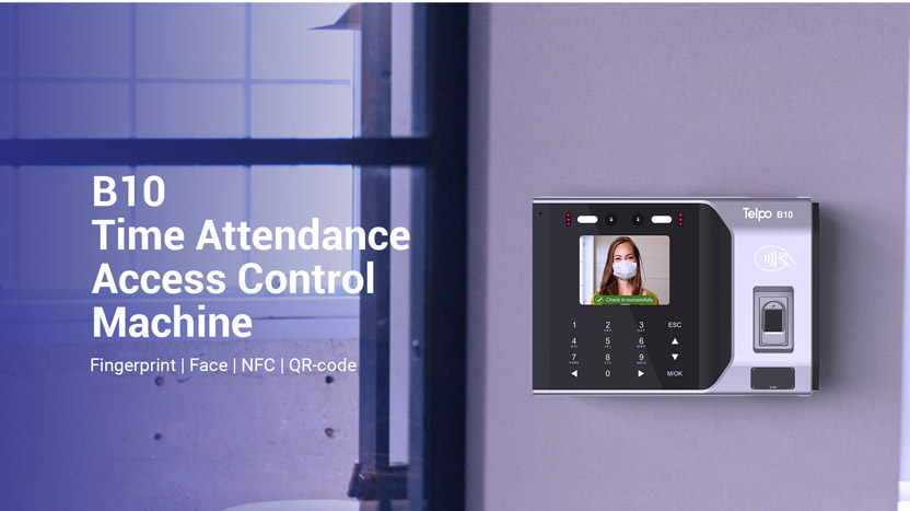 New Product| Time Attendance & Access Control Device B10