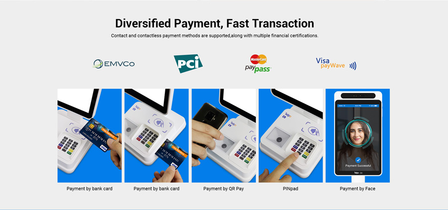 Financial Face Payment Terminal