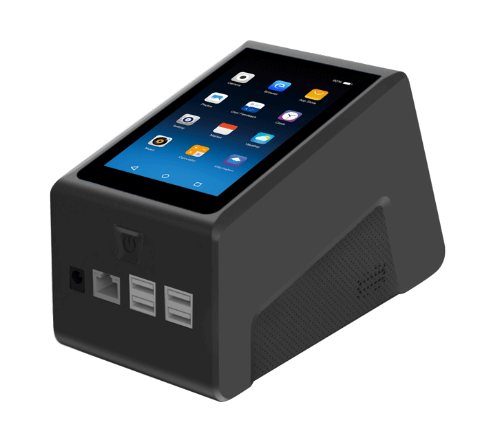 Countertop Scanning Box Android QR Code Scanner