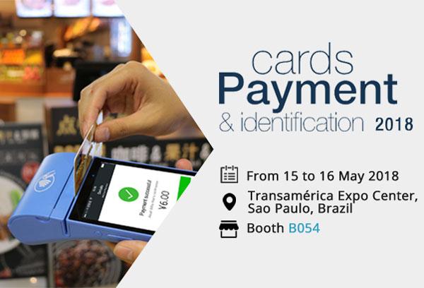 Telpo Showed Smart Biopayment Terminal at Cards Future Payment 2018 Brazil
