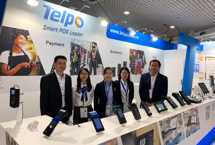 Telpo Powers Biometric Payment at Trustech 2018