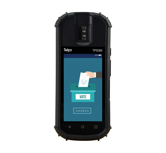 Biometric Fingerprint Reader Mobile POS Machine