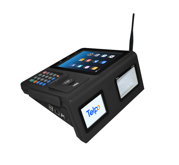 8-inch screen Android Desktop POS with Customer Display