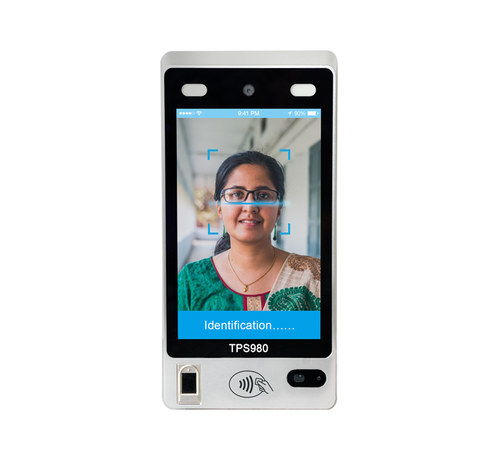 8-inch IP54 Android Face Recognition Access Control Terminal