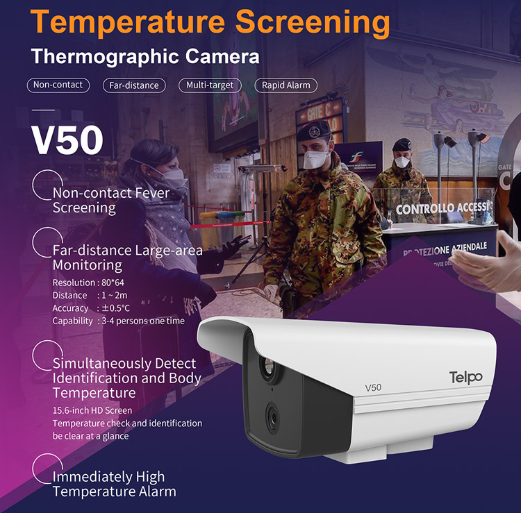 New Product | Temperature Screening Thermography Camera