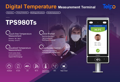 Touch-free Temperature Screening Device