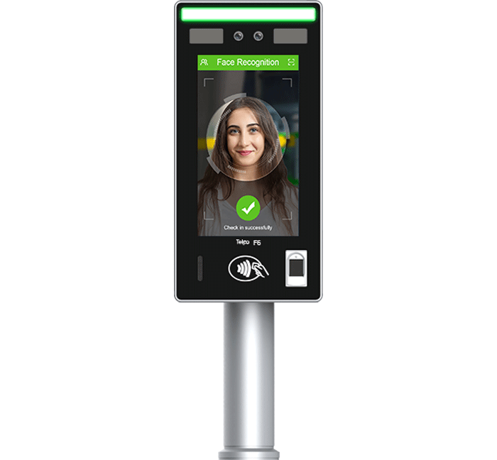 IP65 Outdoor Face Recognition Access Control Terminal with Voice Intercom